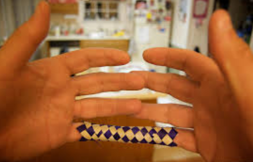 Chinese finger trap risk